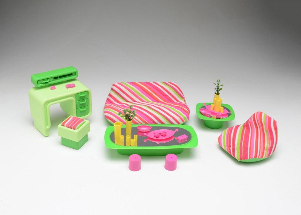 Vintage Barbie Living Room Dream Furniture Lot ...