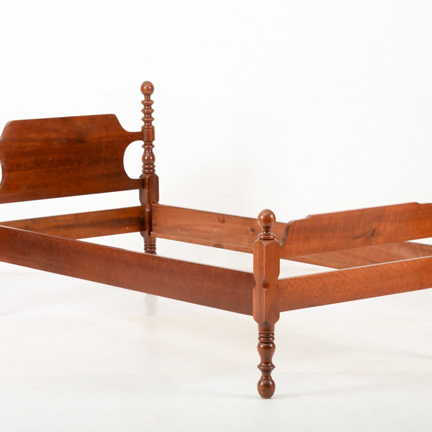 Twin Cherry Cannonball Bed : EBTH