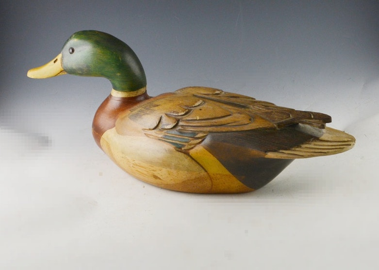 Hand Crafted Duck Decoys By James Pierce Ebth