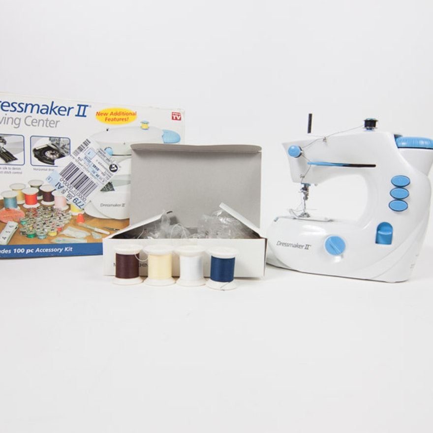 Dressmaker II Sewing Machine EBTH Best Dressmaker Ii Sewing Machine