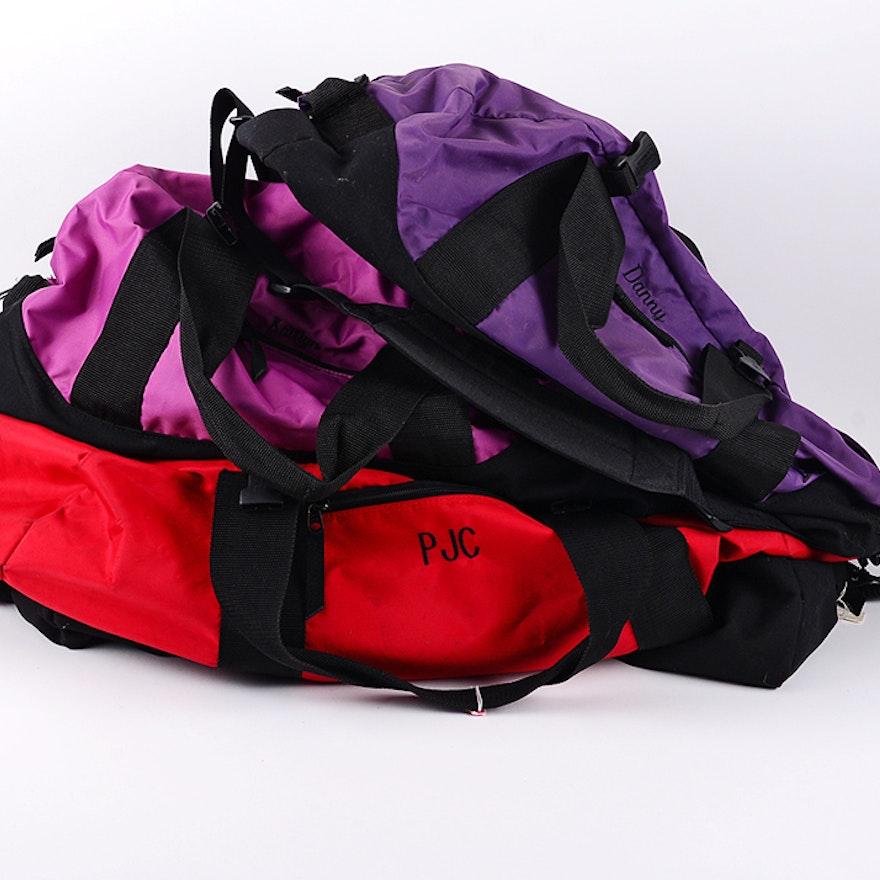 LL Bean Monogrammed Duffle Bags