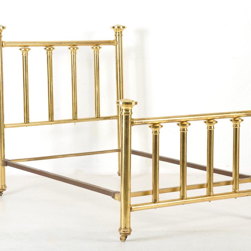 Vintage Brass Bed Frame : EBTH