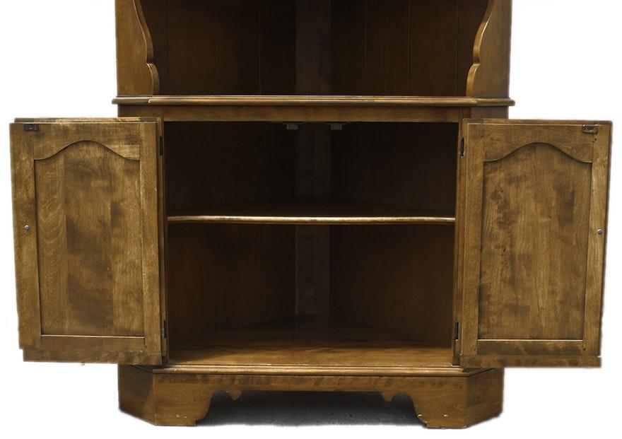 Vintage Ethan Allen Corner Cabinet : EBTH
