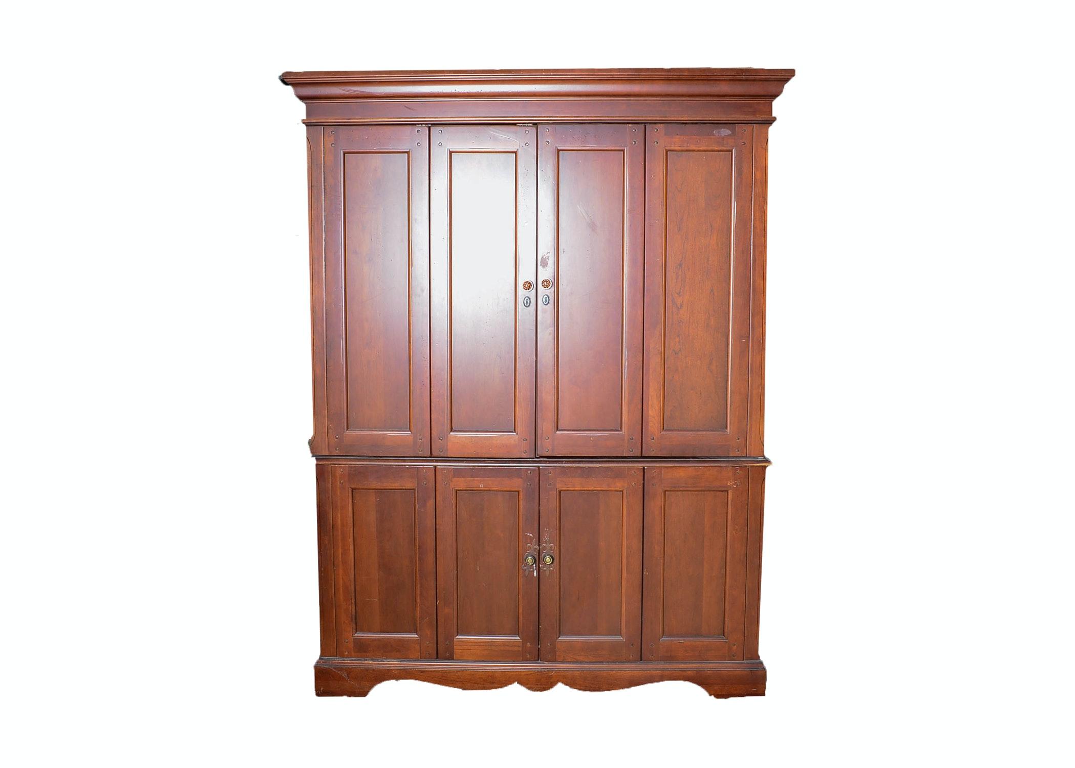 Hooker Furniture Four Door Home Office Computer Armoire ...
