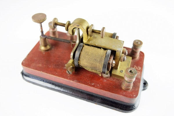 Antique Tractor Keys : Antique telegraph keys and equipment ebth