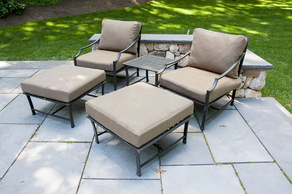 Restoration Hardware Carmel Patio Pieces Ebth. Best Of Patio Furniture  Columbia Sc