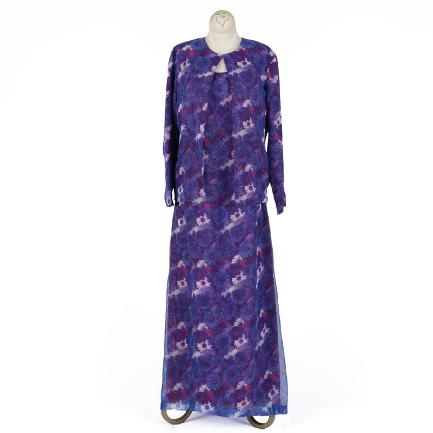 9b85a7ff1d61 Craig Signer Silk Dress and Jacket   EBTH