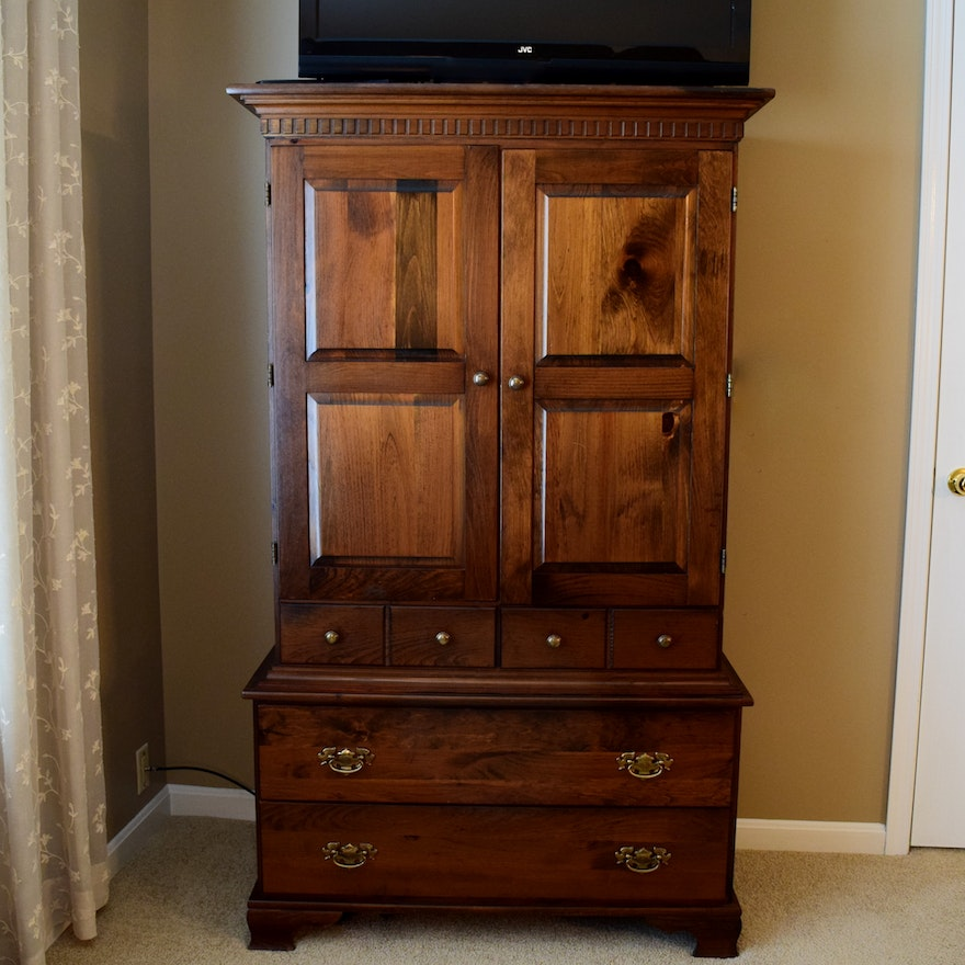 Yield House Pine Bedroom Armoire