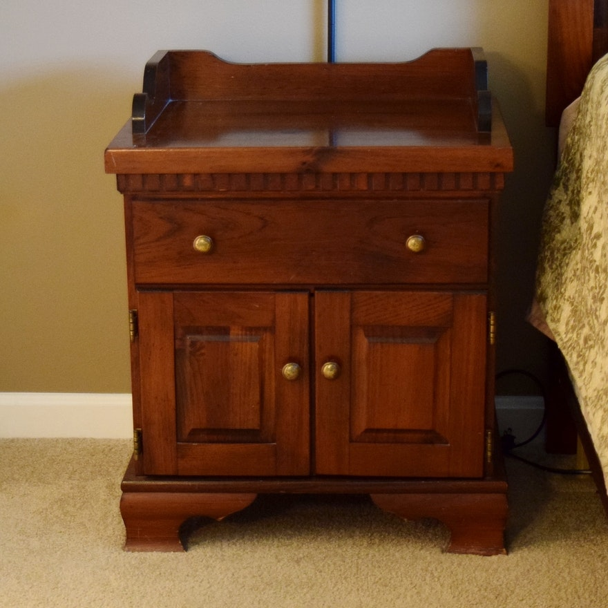 Yield House Pine Bedroom Nightstand