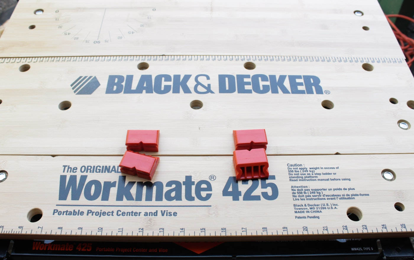black and decker workmate 225 manual