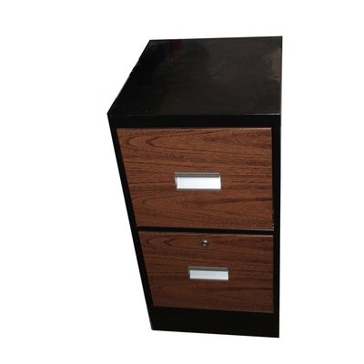 Aluminum Filing Cabinet - Vintage And Antique Cabinets Auction In Louisville, Kentucky