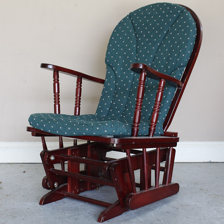 cushioned rocking chair ebth