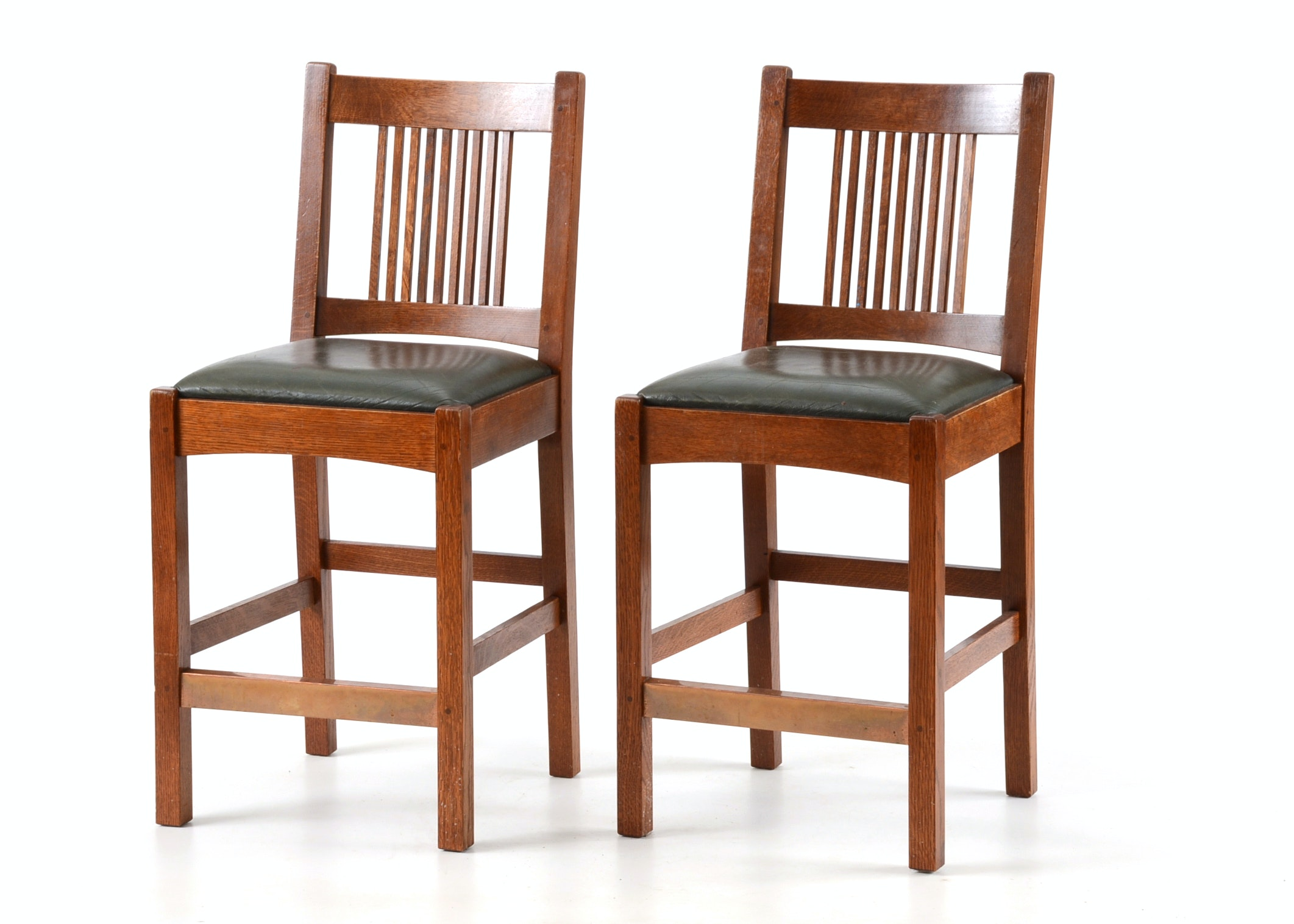 Contemporary Stickley Oak Bar Stools EBTH : JJM1856JPGixlibrb 11 from ebth.com size 1400 x 1000 jpeg 154kB