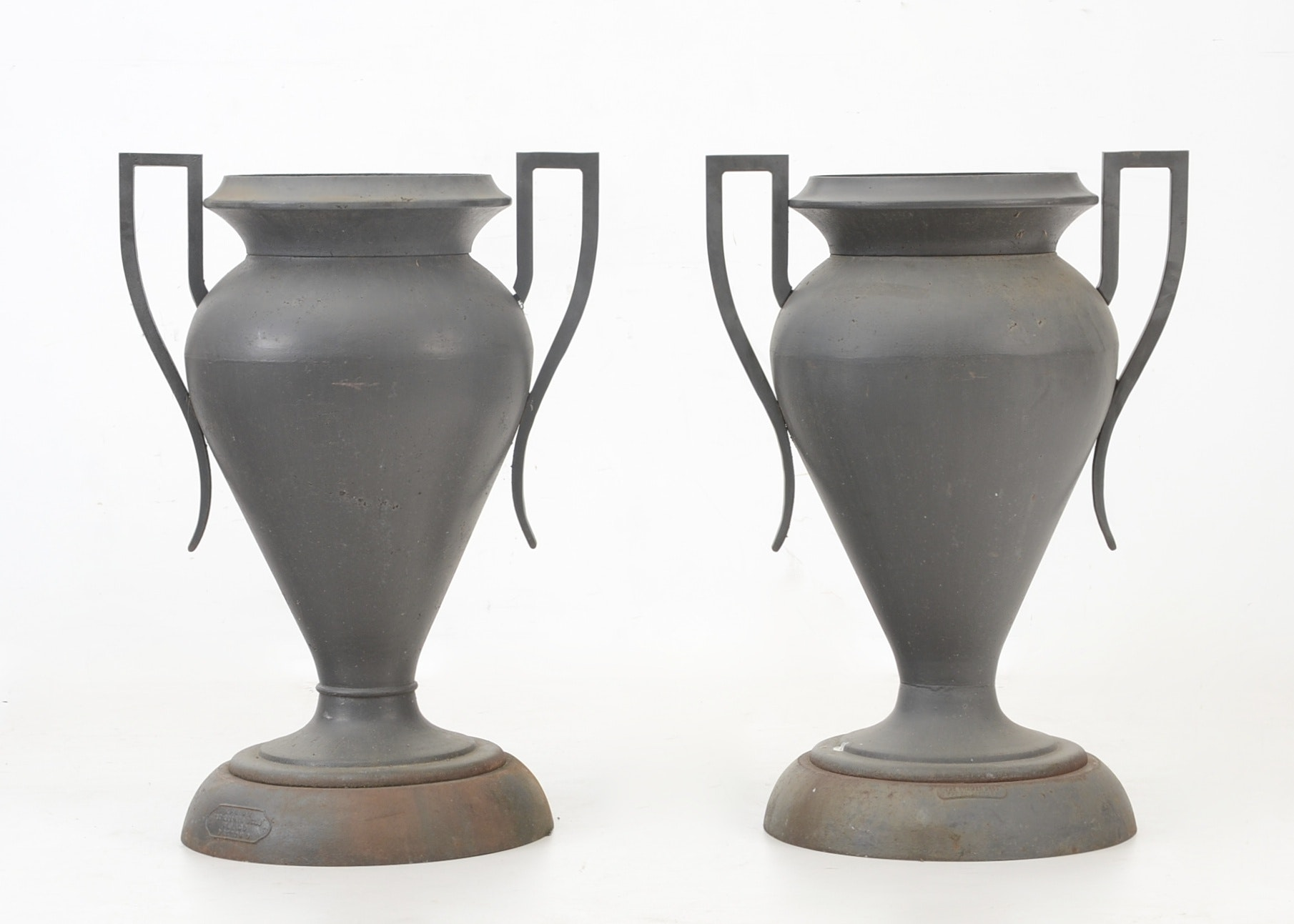 Cast Iron Garden Urns ...