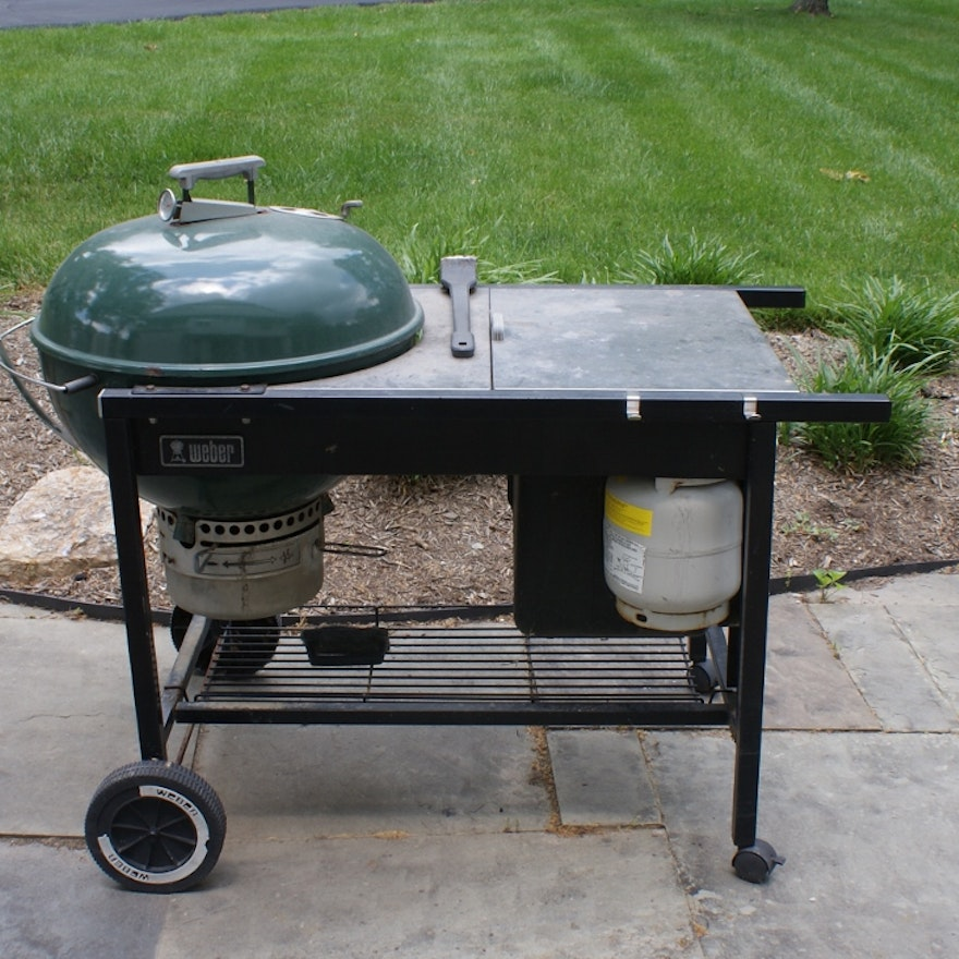 Weber Charcoal And Gas Combo Grill Ebth