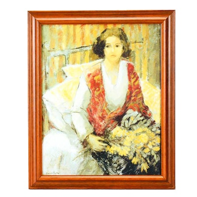 Vintage Art Prints | Art Print Auctions | Lithographs for Sale in ...