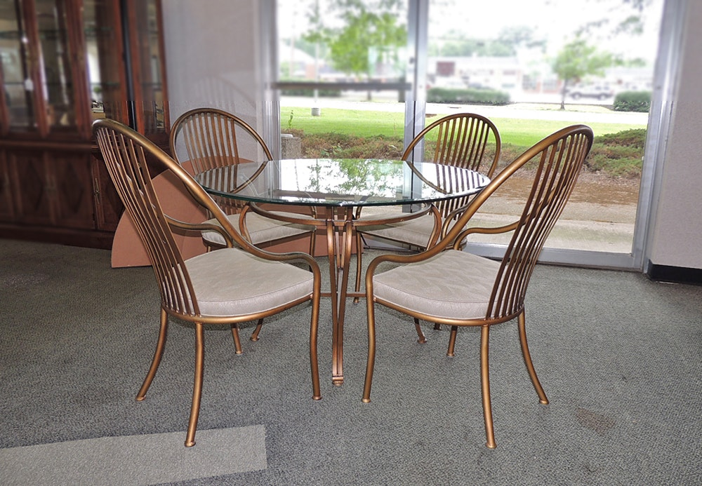Shaver Howard Patio Dining Table And Chairs ...