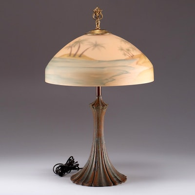antique floor lamps table lamps and light fixtures