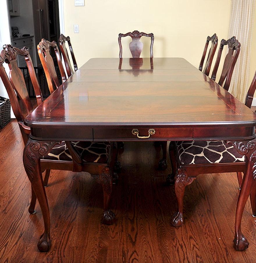 Bernhardt Dining Room Set. Online Furniture Auctions   Vintage Furniture Auction   Antique