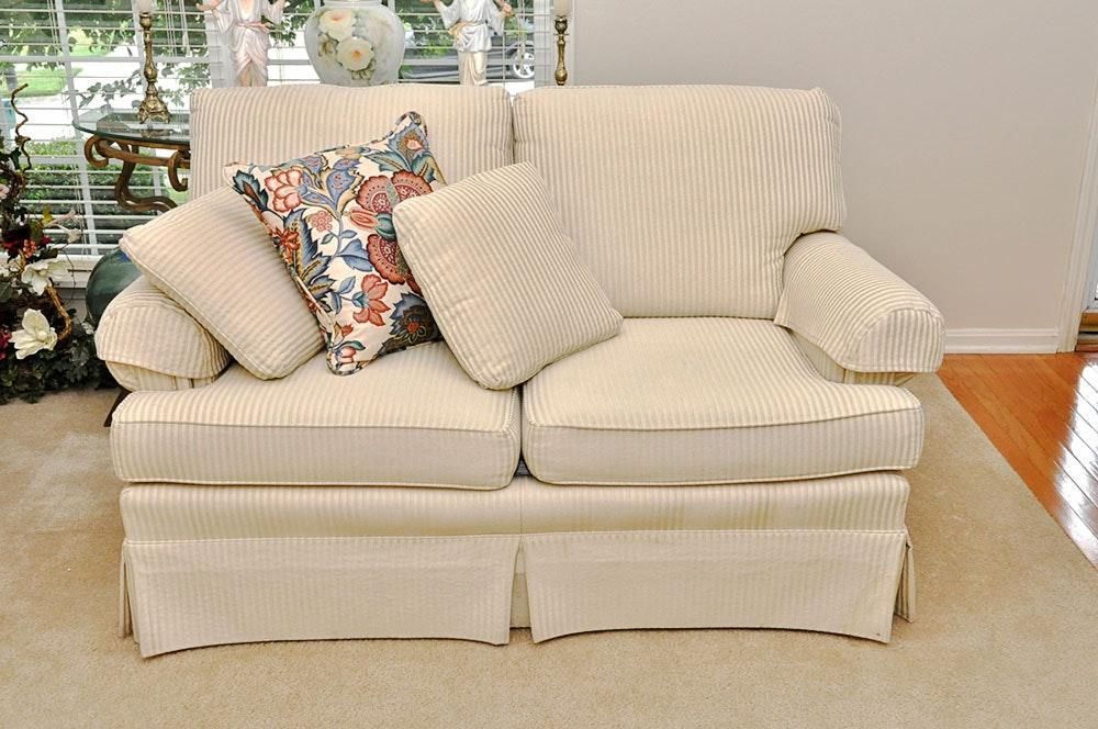 Attractive Contemporary Love Seat By Jetton Furniture Of Hickory, NC ...