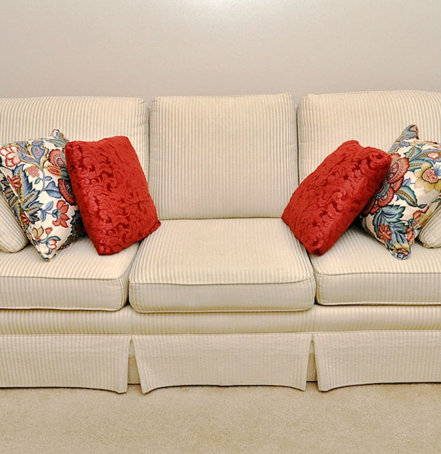 Contemporary Sofa By Jetton Furniture Of Hickory NC EBTH - Jetton sofa