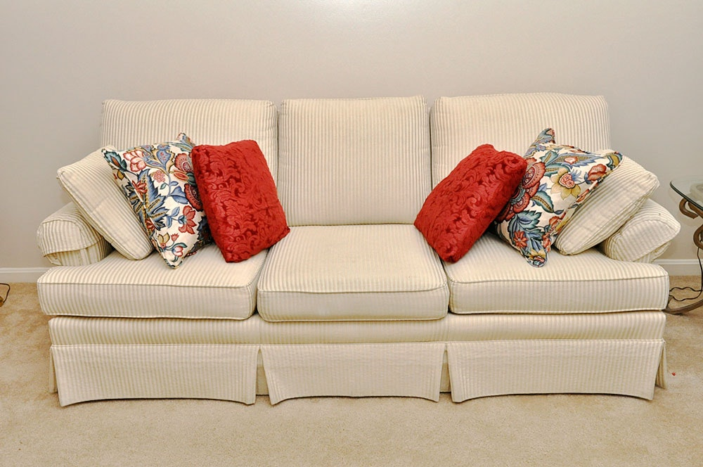 Contemporary Sofa By Jetton Furniture Of Hickory, NC ...