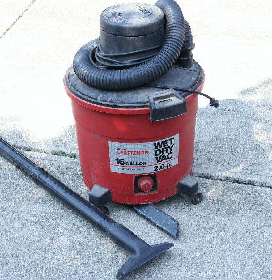 Craftsman 9 gallon Wet dry Vac manual