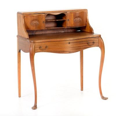 Vintage Colonial Revival Desk - Vintage Desks, Antique Desks And Used Desks Auction In Cincinnati