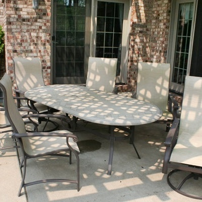 patio table and chairs - Garden Furniture Lebanon