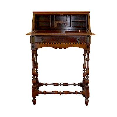 Antique Secretary Desk - Online Furniture Auctions Vintage Furniture Auction Antique