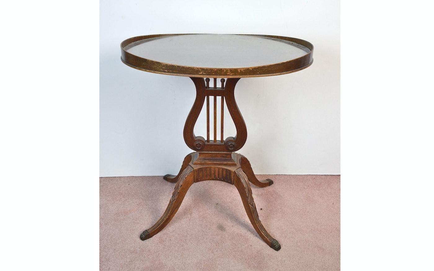 Mersman harp table ebth for Table rrq 2015 52