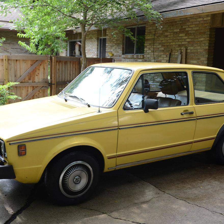 1980 volkswagen rabbit diesel 2 door in yellow ebth. Black Bedroom Furniture Sets. Home Design Ideas