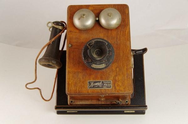 Antique Wall Phone 1900s Monarch Telephone Mfg Co Ebth