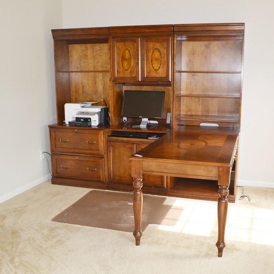 Glen Eagle Office Unit With Desk Return By Ashley Furniture Ebth