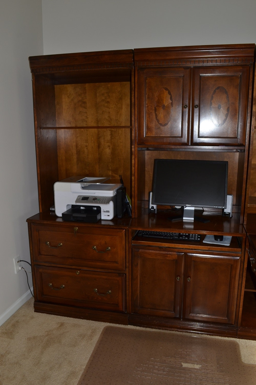 Glen Eagle Office Unit With Desk Return By Ashley