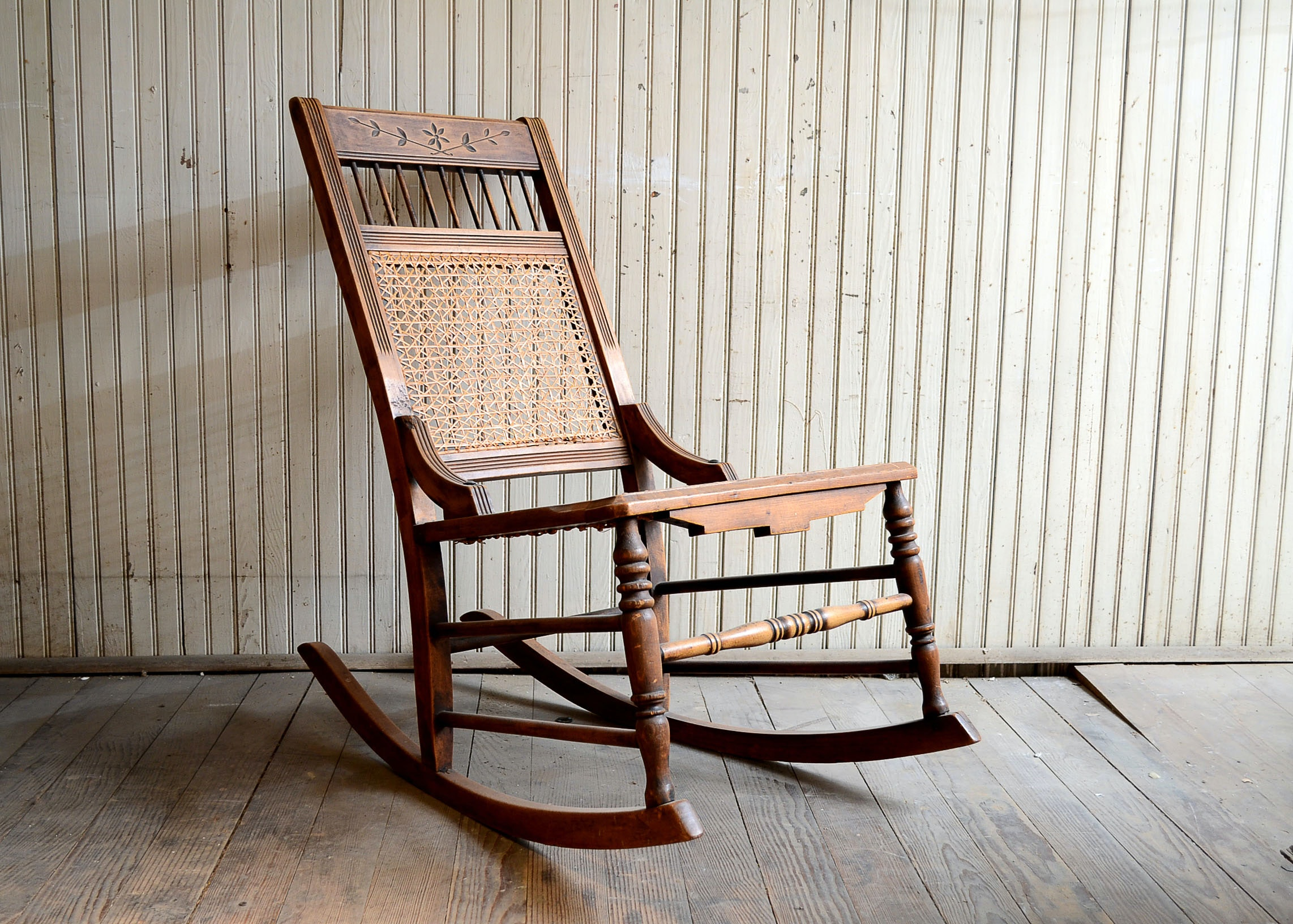 Antique Oak Rocker