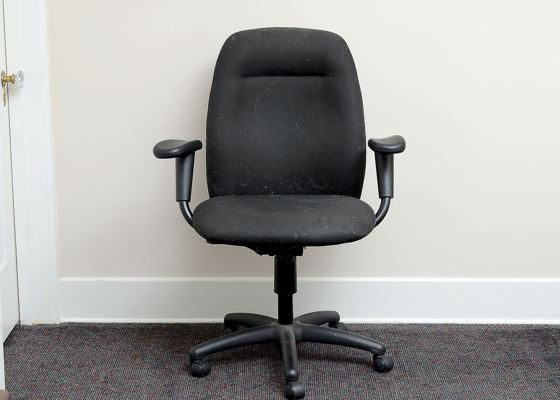 Vogel Peterson Black Office Chair