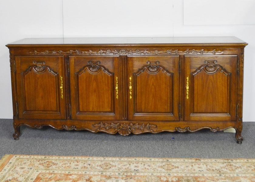 Beau Kindel Furniture Carved Buffet ...