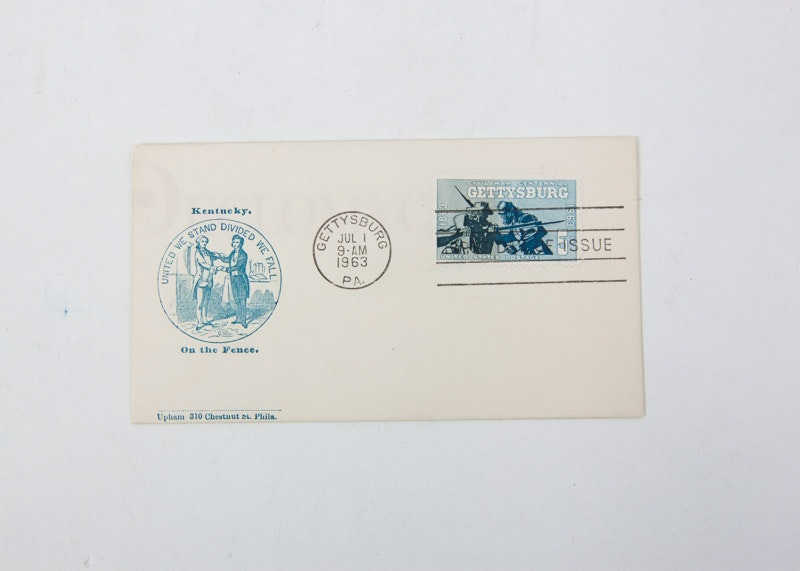 Northern Kentucky Auto Sales >> Three Civil War Commemorative First Day Covers | EBTH