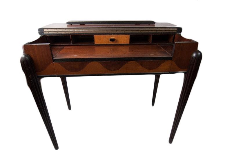 Art Deco Spinet Desk Ebth