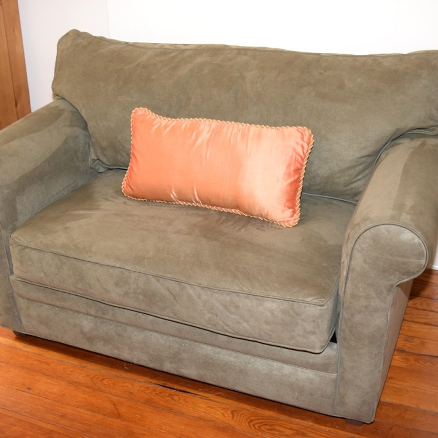 Twin Sleeper Loveseat By Havertys Furniture