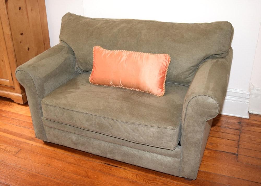 Twin Sleeper Loveseat By Havertys Furniture ...