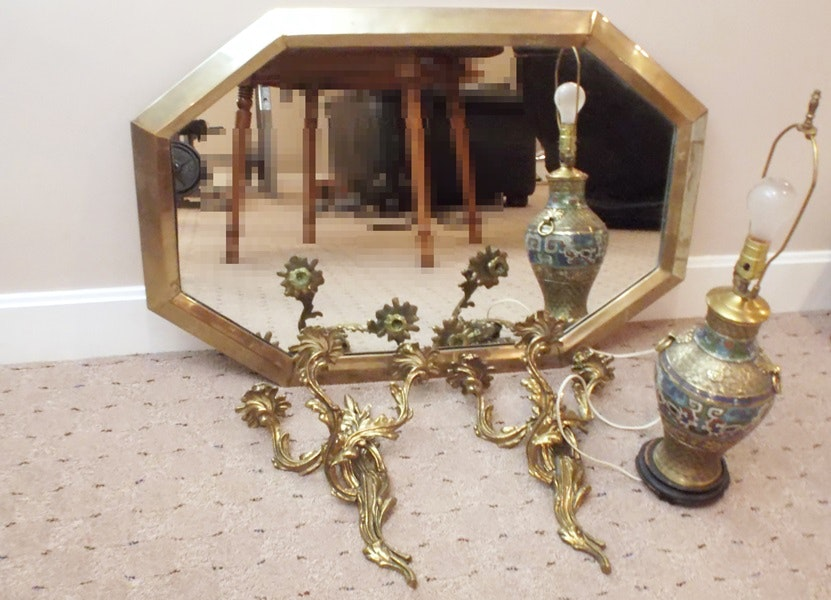 Vintage Mirrors Auction Antique Wall And Floor Mirrors