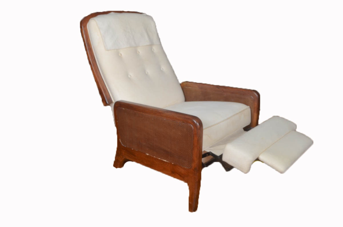 Vintage Recliner By Burris Industries Ebth