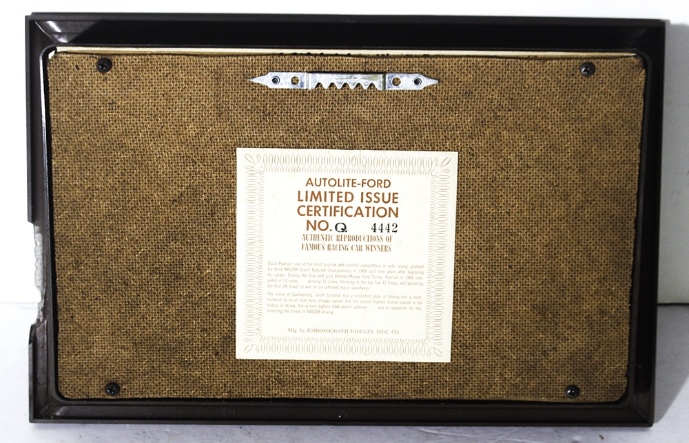 Complete Set Of Autolite Ford Shadow Boxes Ebth