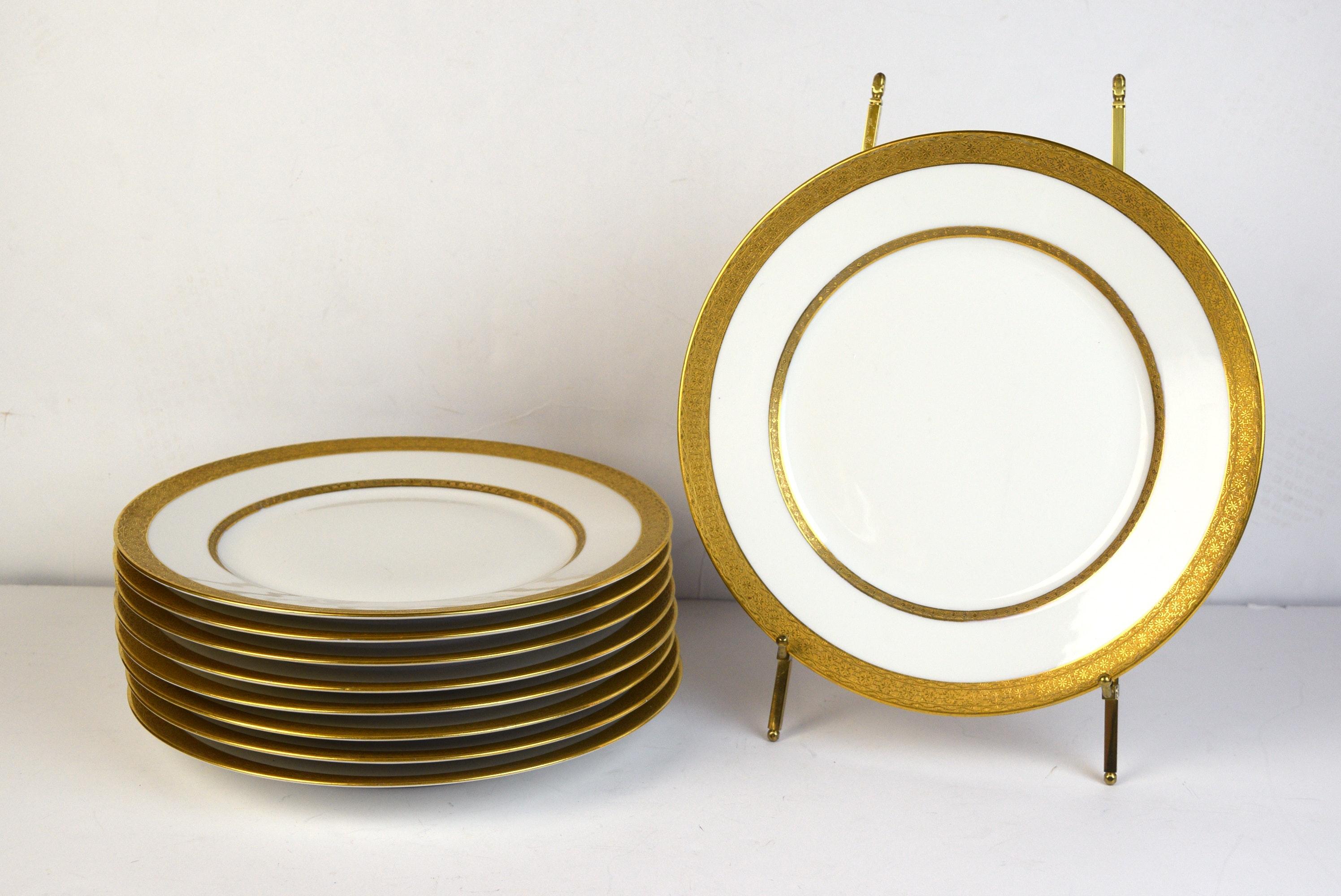 Set of Nine Charles Ahrenfeldt Limoges Dinner Plates ...  sc 1 st  EBTH.com & Set of Nine Charles Ahrenfeldt Limoges Dinner Plates : EBTH