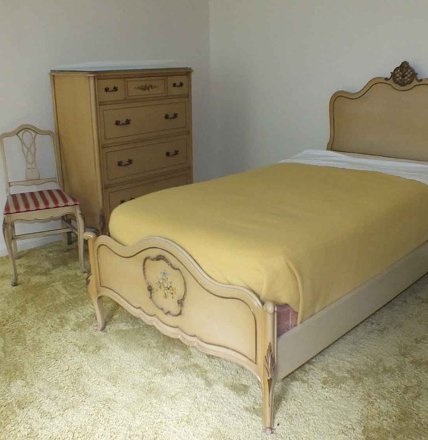 twin size bedroom suite from luce furniture ebth