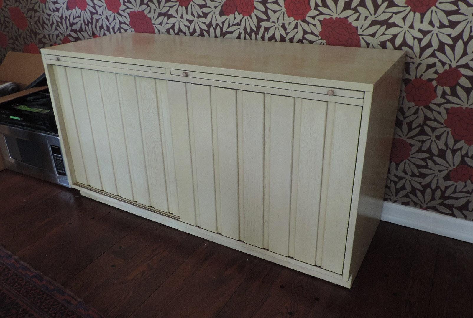 sligh furniture midcentury wood sideboard