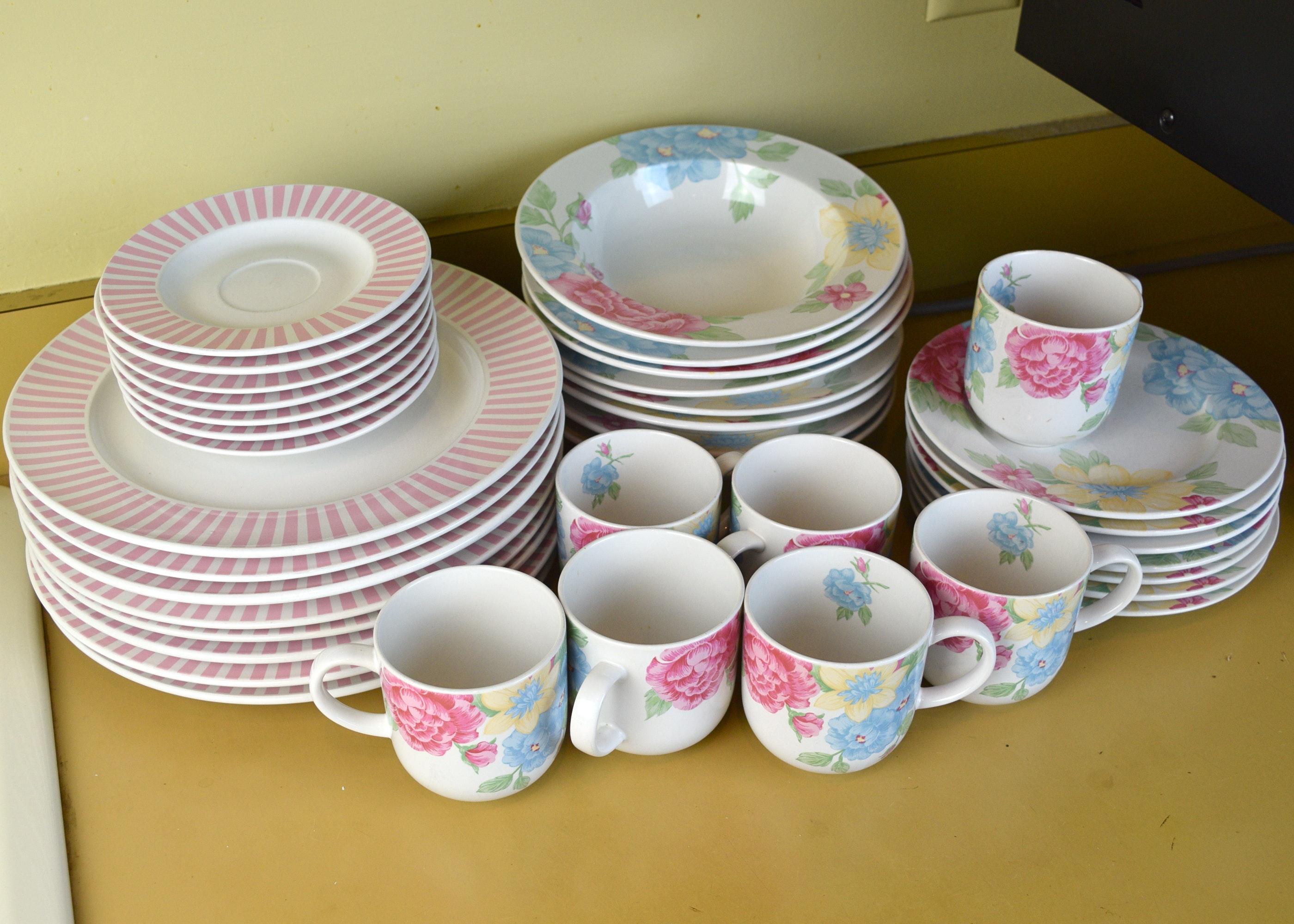 Tienshan Stoneware Dining Set ...