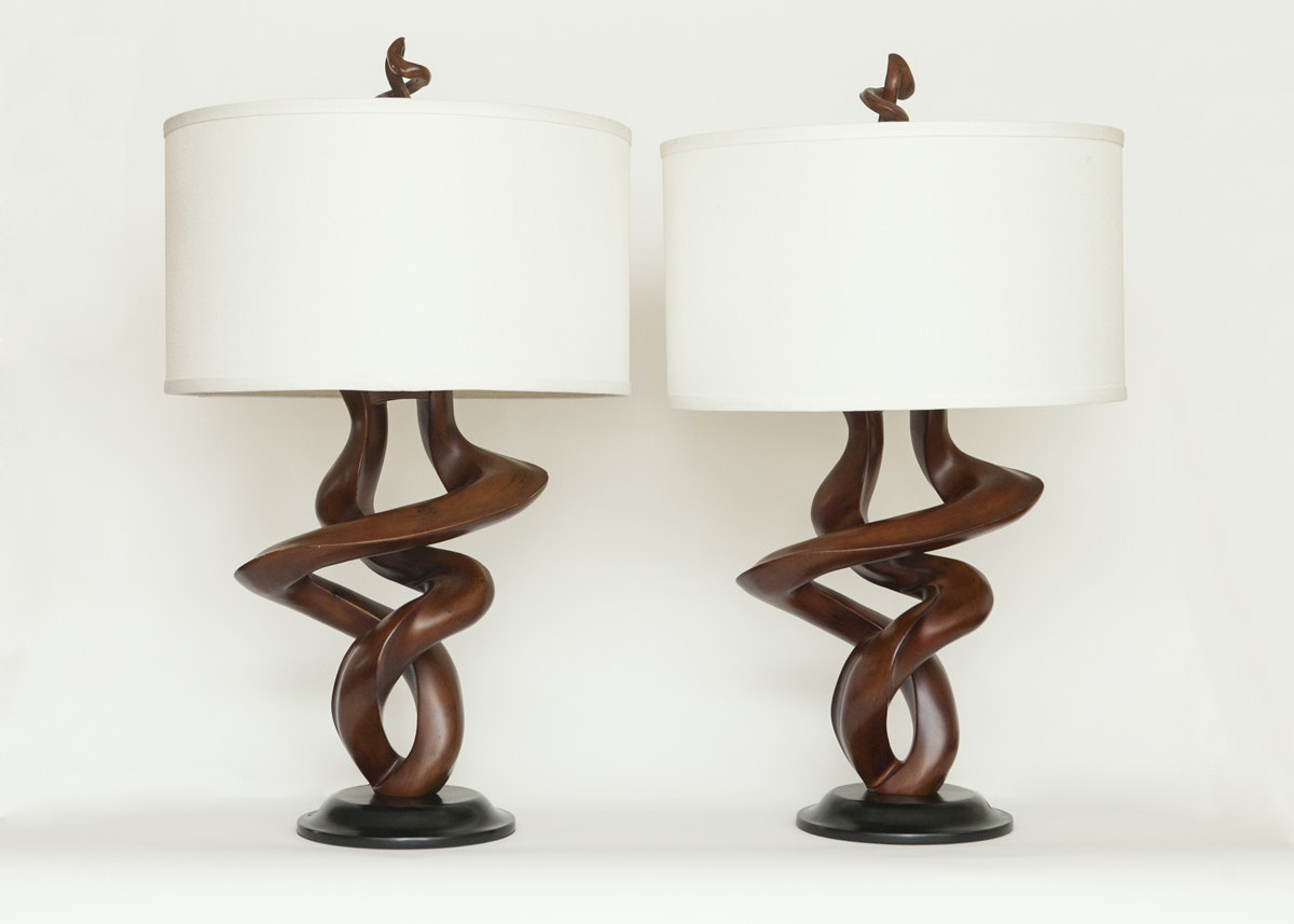 Pair Of Kathy Ireland Table Lamps ...